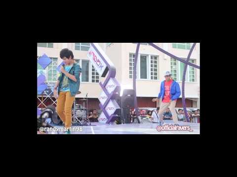 Randy Martin Debut I Love You More at Inbox [ Behind the Stage ]