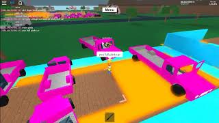 hi guys see I dupe pink car
