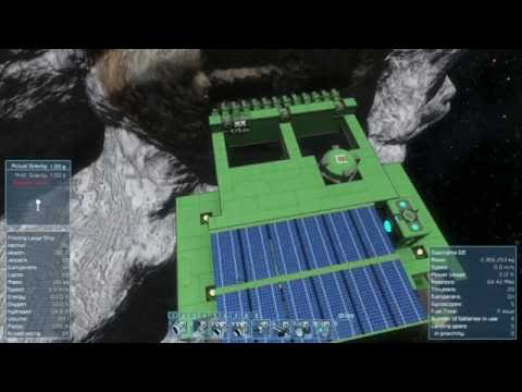 Space Engineers   planet survival ep28  best asteroid ever