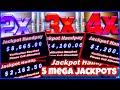 MASSIVE MEGA VAULT JACKPOTS/ 5 JACKPOTS/ FREE GAMES RETRIGGER/ HIGH LIMIT