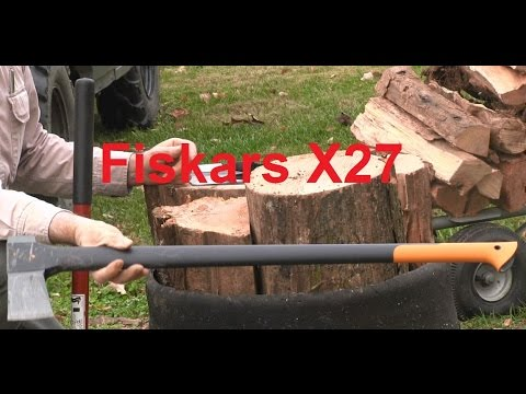 Fiskars X27 vs Monster Maul