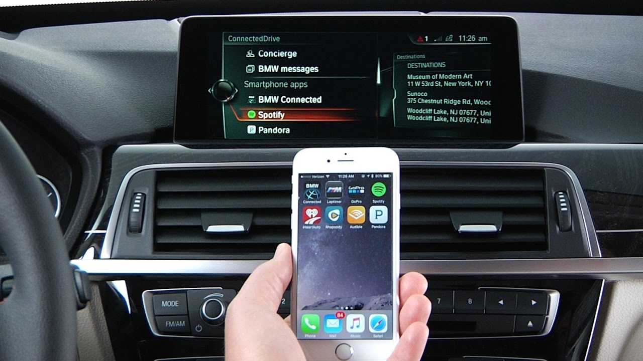 Use Apps Over Bluetooth Bmw Genius How To Youtube
