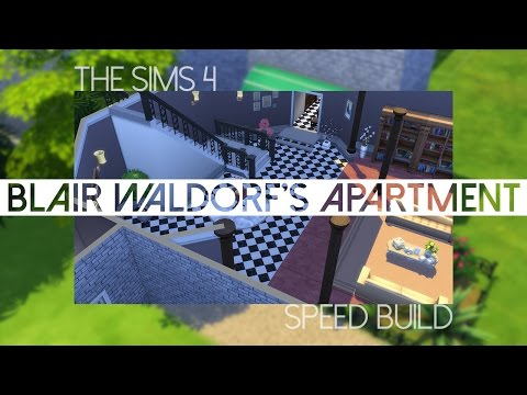 The Sims 4: Speed Build | Blair Waldorf's penthouse apartment #GossipGirl [PART 1]
