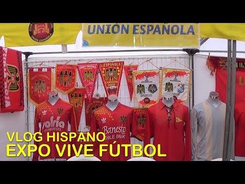 Estuvimos en la Expo Vive Fútbol 2019 en Maipú - Vlog Hispano