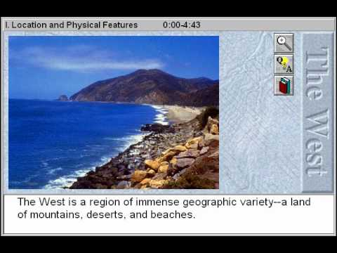 The Western States: Location and Physical Features
