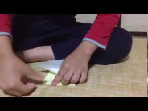 How to make paper hanataba origami