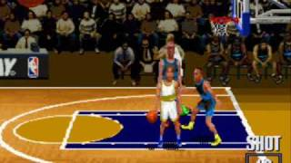 Super Nintendo - NBA Hang Time (1996)