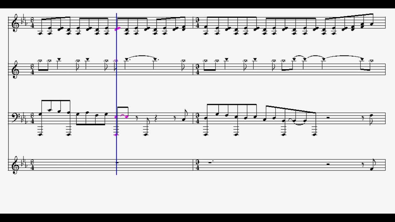 Loz The Wind Waker Wind Temple Sheet Music