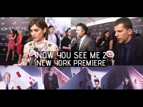 Now You See Me 2 New York Premiere
