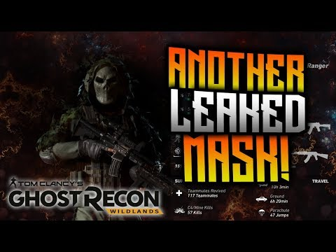 Ghost Recon Wildlands - ANOTHER Leaked Mask!