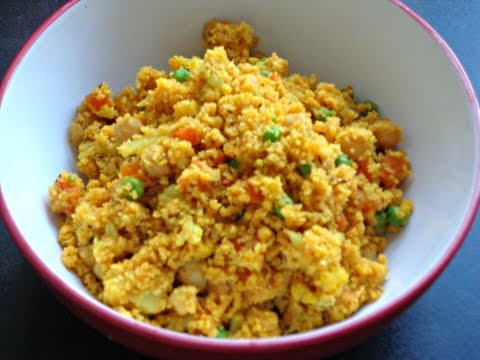 Tasty CousCous with Chickpeas and Veggies   Healthy CousCous Recipe
