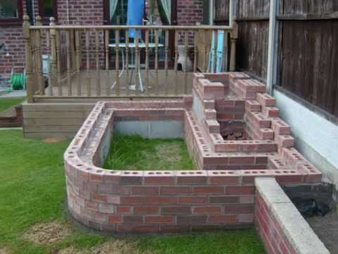 How to build your own garden fish pond waterfall 2012 for Making a garden pond and waterfall