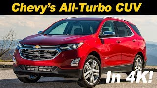 2018 Chevrolet Equinox 2.0T Review and Road Test - In 4K