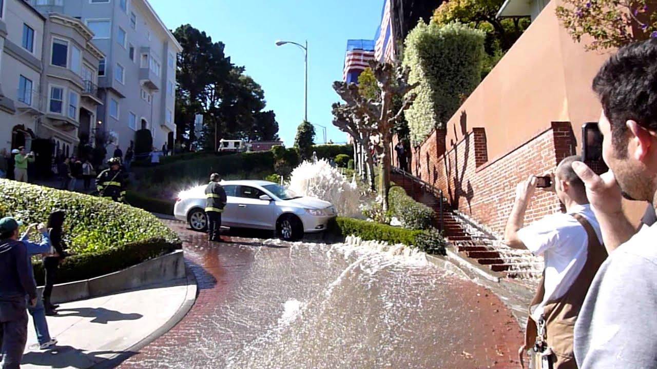 San Francisco Street Car Accident