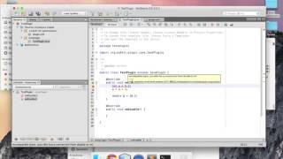 Разработка Java-плагинов для Minecraft #2: Сервер и основы языка