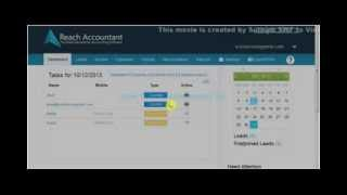 How to Use Dashboard - Reach Accountant