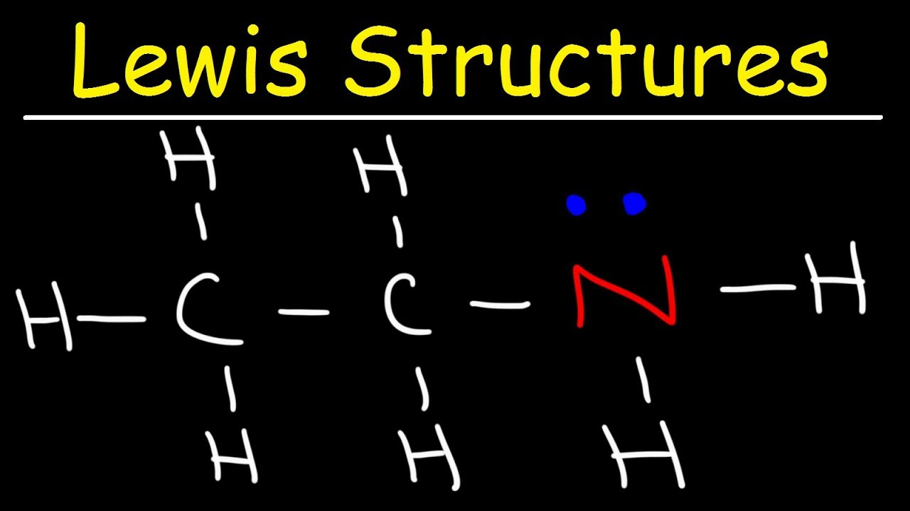 Organic Chemistry - How To Draw Lewis Structures - YouTube