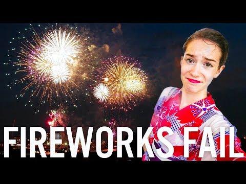 Fireworks FAIL In Tokyo 🎇 🎆