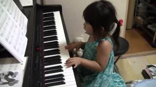 楽譜を自分で見て、初めて0から1人で練習した曲♪ 1人で練習している...