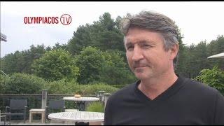 Ο Τροντ Σόλιντ στο Οlympiacostv! / Trond Sollied On Olympiacos Tv!