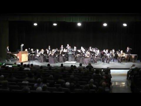 5-2-16 BHS Concert Band, Spring Concert