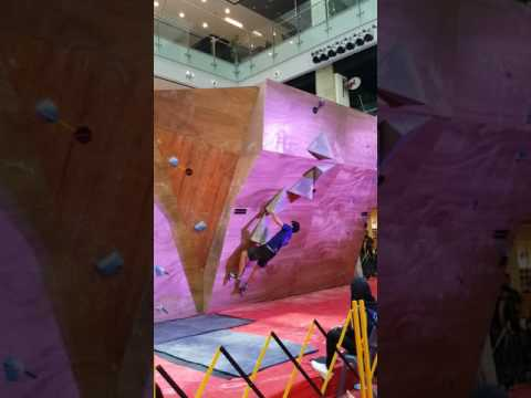 Rockmaster 2016 Novice Men route demo