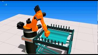 Reconfigurable Mould - Robotised Welding Simulation