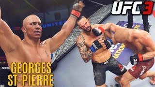 Georges St-Pierre Has Crisp Striking! EA UFC 3 Online Ranked Gameplay