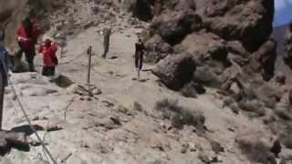 ИСПАНИЯ: Место съемок фильма Миллион Лет До Нашей Эры... у горы вулкана Тейде
