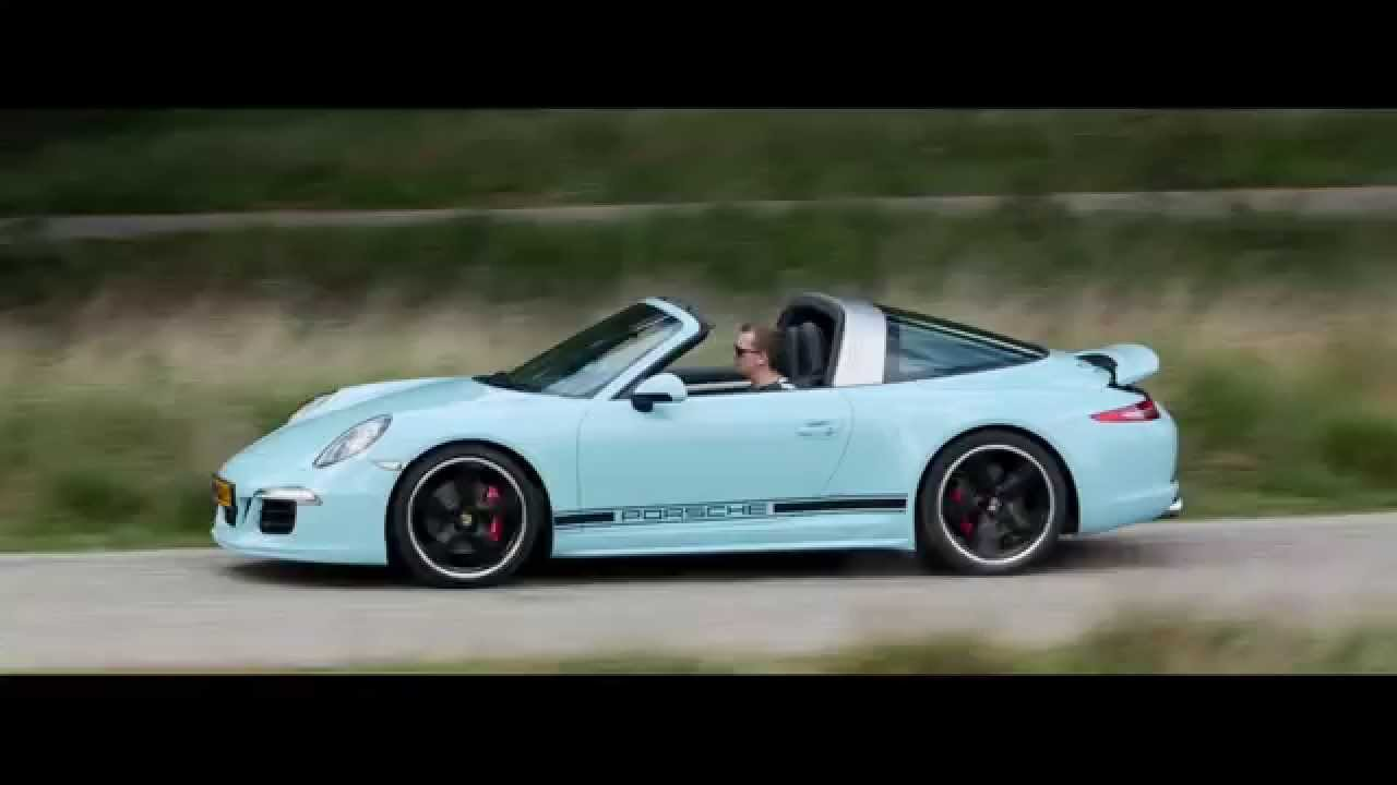 Driven: Porsche 991 Targa Exclusive Edition - YouTube