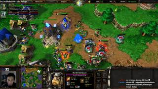 Focus (Orc) vs Blade (HU) - WarCraft III: Reforge - Classic Graphics - WC2615