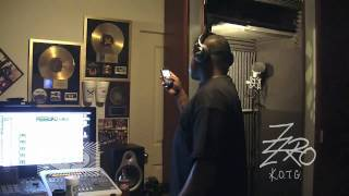 "Z-Ro Records & Previews Song (Making ""Never Been A Bitch"" part 6) WWW.ALGIERZ.COM"