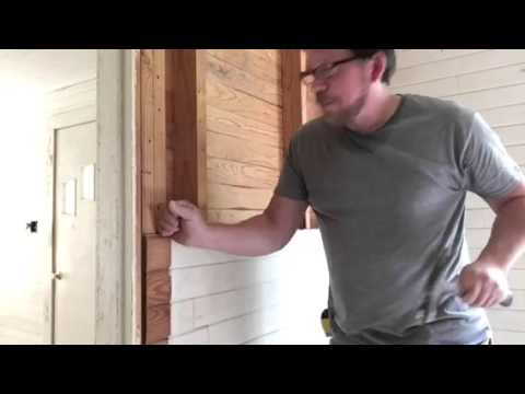 Removing Tongue and Groove Wallboards