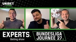 Unibet Experts – Betting Show: 2019/2020: Journée 27 (Bundesliga)