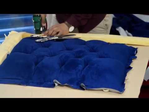 Comment faire une tete de lit capitonnée / Omar Best Design