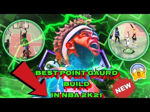 GAME BREAKING BEST GAURD BUILD is a DEMIGOD in NBA 2K21! AFTER PATCH 3 + BEST BADGES 2K21 |