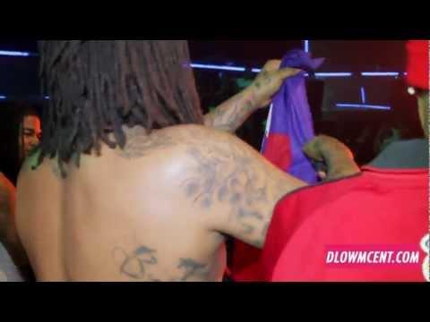 Waka Flocka Flame Performing  Orlando Bustin At Em