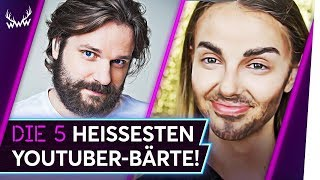 Die 5 HEISSESTEN YouTuber-Bärte! | TOP 5
