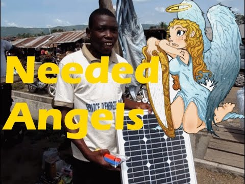 Angel Needed for Emile Who Sells Solar Panels Kpalime Togo #angelinvestor #solar