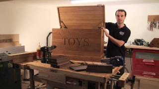 Solid Oak Personalised Wooden Toy Boxes From Makemesomethingspecial.co.uk