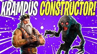 NEW KRAMPUS CONSTRUCTOR LEAK FOR FROSTNITE! Bonus 👏 News 👏 | Fortnite Save The World News