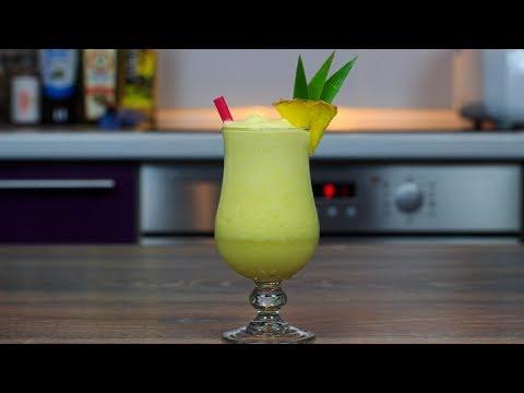 Безалкогольная Пина колада | Virgin Pina Colada cocktail recipe