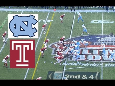 Temple Vs North Carolina Football Bowl Game 12 27 2019