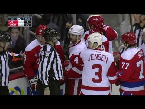 Ericsson forced to leave after Backstrom delivers questionable hit
