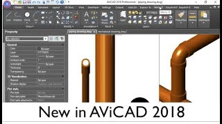AViCAD 2018 - An AutoCAD Alternative With Plant & Piping Tools