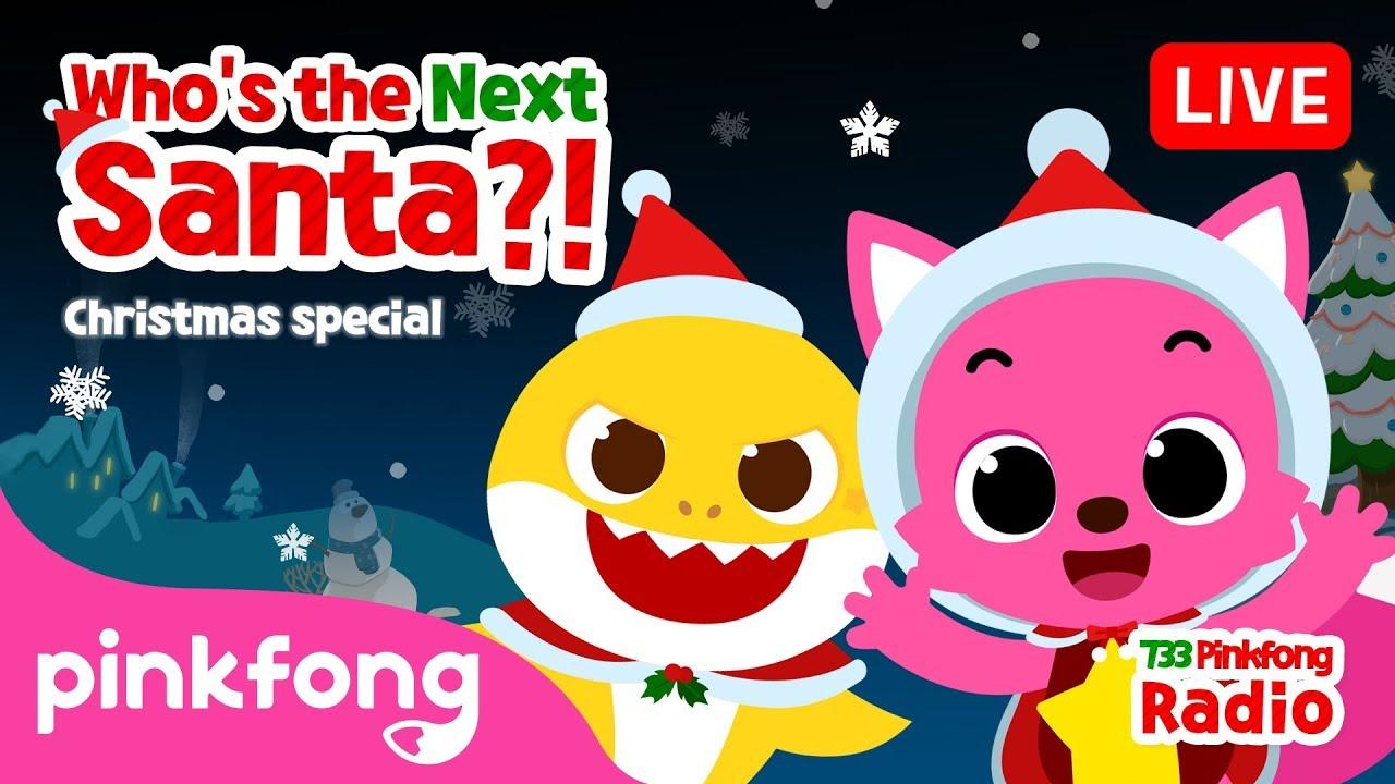 733 Pinkfong Baby Shark Radio | Christmas Radio | Pinkfong Show for Children