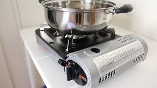 Iwatani Gas Cassette Burner Stove Review (Butane Gas)