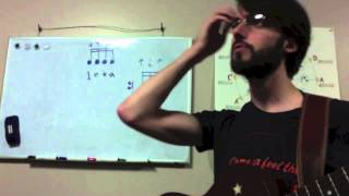 Rhythm Basics for Guitar Lesson 5: Sixteenth Notes