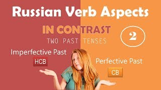 Beginning Russian: Verbal Aspect in Contrast. Part 2: Imperfective Past vs. Perfective Past