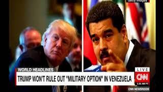 Headlines China urged restraint, Maduro can't reach Trump, Kenya protest elections